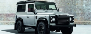 Land Rover Defender Black and Silver Set for Geneva Debut
