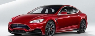 Larte Design Tesla Model S Elizabeta Revealed
