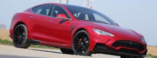 Larte Tesla Model S Elizabeta Details Revealed