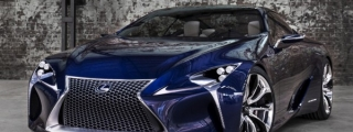 Production Lexus LF-LC Set for 2016 Launch
