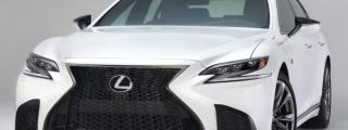 2018 Lexus LS 500 F SPORT Looks Hot!