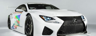 Geneva Preview: Lexus RC F GT3 Concept