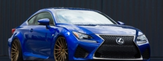 Gallery: Lexus RC F on Vossen Wheels