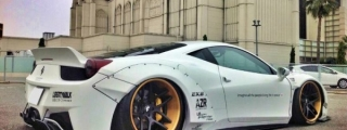 This Could be the Sickest Liberty Walk Ferrari 458 Ever!