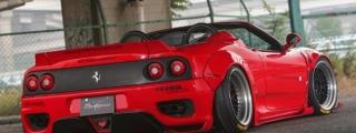 Liberty Walk Ferrari 360 Wide Body Kit
