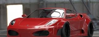 Preview: Liberty Walk Ferrari F430