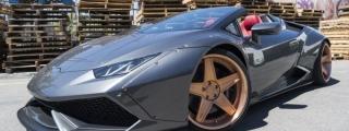 Liberty Walk Huracan Spyder Gets New Wheels