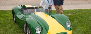 Lister Knobbly Stirling Moss Edition Debuts at Pebble Beach