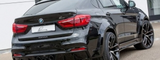 Lumma BMW X6 CLR Detailed in New Gallery