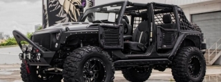 Luxuria Bespoke Jeep Wrangler Is Ready for Trumpocalypse