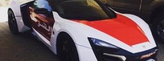 $3.4M Lykan Hypersport Joins Abu Dhabi Police Fleet