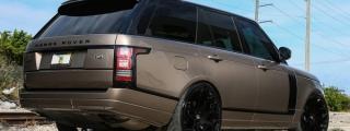 MC Customs Range Rover on Forgiato 24s