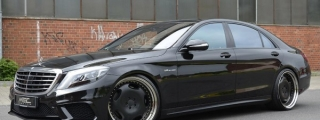 MEC Design Mercedes S63 AMG Gets Retro Wheels