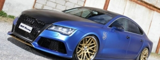 "MR Racing Audi A7 Diesel ""Blue Wonder"""