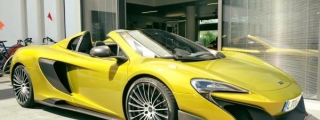 McLaren 675LT Spider Arrives at Munich Showroom