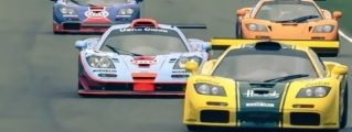 Heavy McLaren F1 GTR Action at Goodwood Members Meeting!