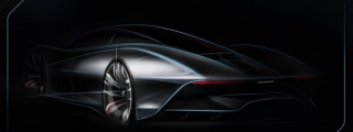 McLaren Hyper GT Partially Teased