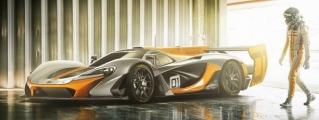 McLaren LMP1 Is a P1 GTR on Acid!