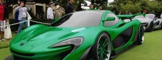 McLaren P1 GTR Goes Hulkish in New Rendering