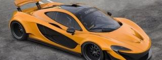 Virtual Tuning: McLaren P1 Wide Body