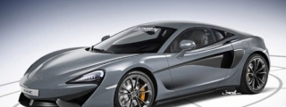 Rendering: Front-Engined McLaren Sports Series