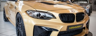 Sights and Sounds: Manhart MH2 630 BMW M2