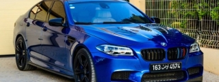 Gallery: Manhart BMW M5 from Tunisia
