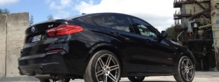Manhart BMW X4 Diesel Gets 375 Horsepower