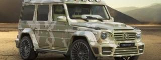 Mansory G-Class Sahara Edition Sneaks into Geneva