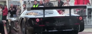 Maserati MC12 GT1 on Public Roads Is Quite a Sight
