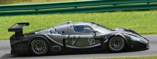 Maserati MC12 GT1 Filmed in Action at VIR