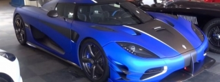 Matte Blue Koenigsegg One:1 Scooped Before Delivery