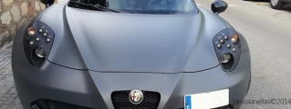 Thing of Beauty: Matte Grey Alfa Romeo 4C