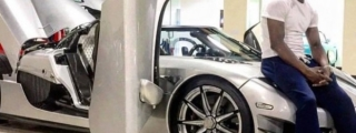 Mayweather Goes to Gym in His Koenigsegg CCXR Trevita!