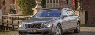 Legend: Maybach 62 with One Million Kilometers on the Clock