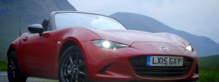 New Mazda MX-5 Miata Tested in Scotland