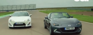 Track Test: Mazda MX-5 vs Toyota GT86
