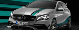 Official: Mercedes A45 AMG 2015 World Champion Edition