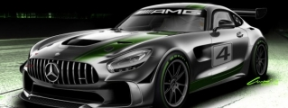 Mercedes AMG GT4 Race Car Announced
