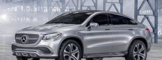 Mercedes Concept Coupe SUV Unveiled