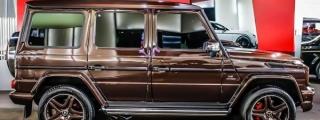 Gallery: Mercedes G63 AMG Chocolate Edition!