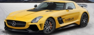 Misha Designs Mercedes SLS Body Kit Preview