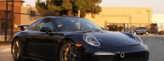 Midnight Blue Porsche 991 GT3 by Impressive Wrap