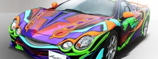 Mitsuoka Orochi Evangelion Released in Japan