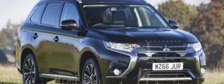 UK Only: Mitsubishi Outlander PHEV Juro