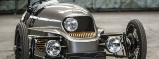 Official: Morgan EV3 Electric 3-Wheeler