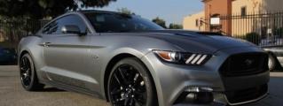 2015 Mustang GT Gets a Custom Wrap