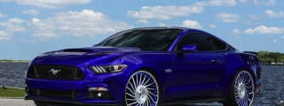 Mustang GT Goes Semi-Donk on Forgiato Wheels