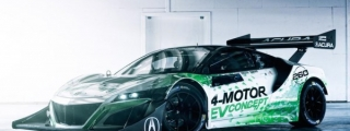 NSX-Inspired Acura EV Concept Revealed for Pikes Peak