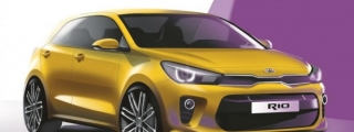 New Kia Rio Teased for Paris Debut